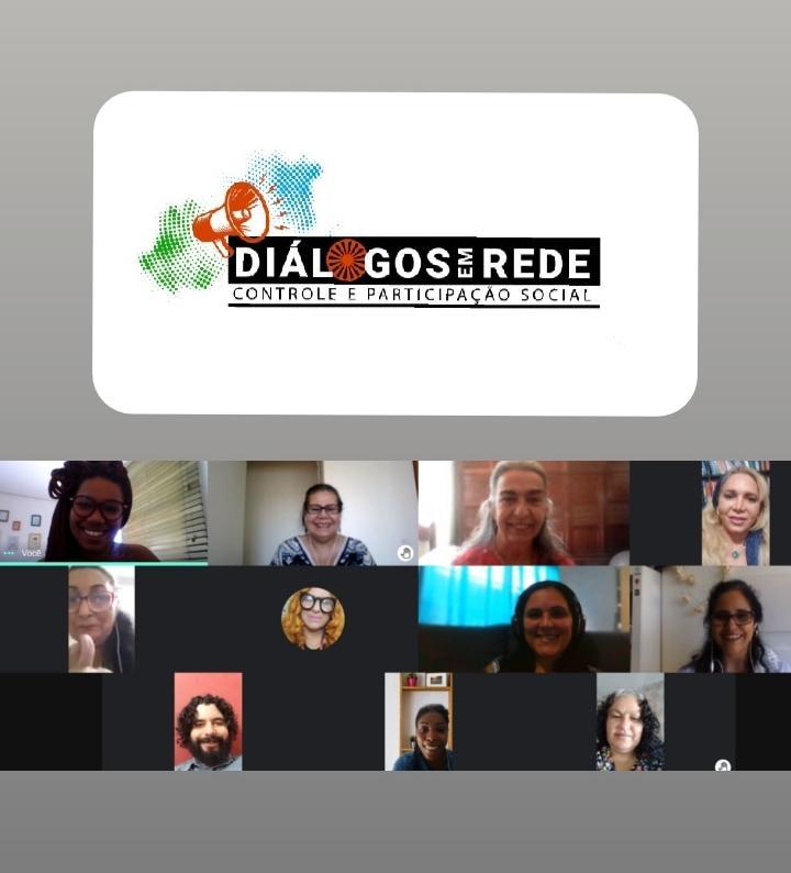 Reunião do projeto Diálogos em Rede: Controle e Participação Social. Agradecemos a todos e todas que estão junto com a Amsk/Brasil e Capemisa Social nesta trajetória.