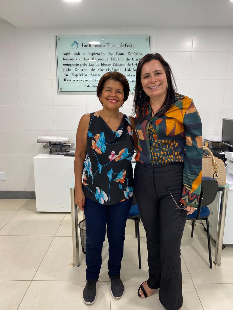 No dia 18/03/2020 a CAPEMISA Instituto de Ação Social, realizou uma visita técnica à Instituição Parceira Fundação Lar Harmonia- Salvador/BA.