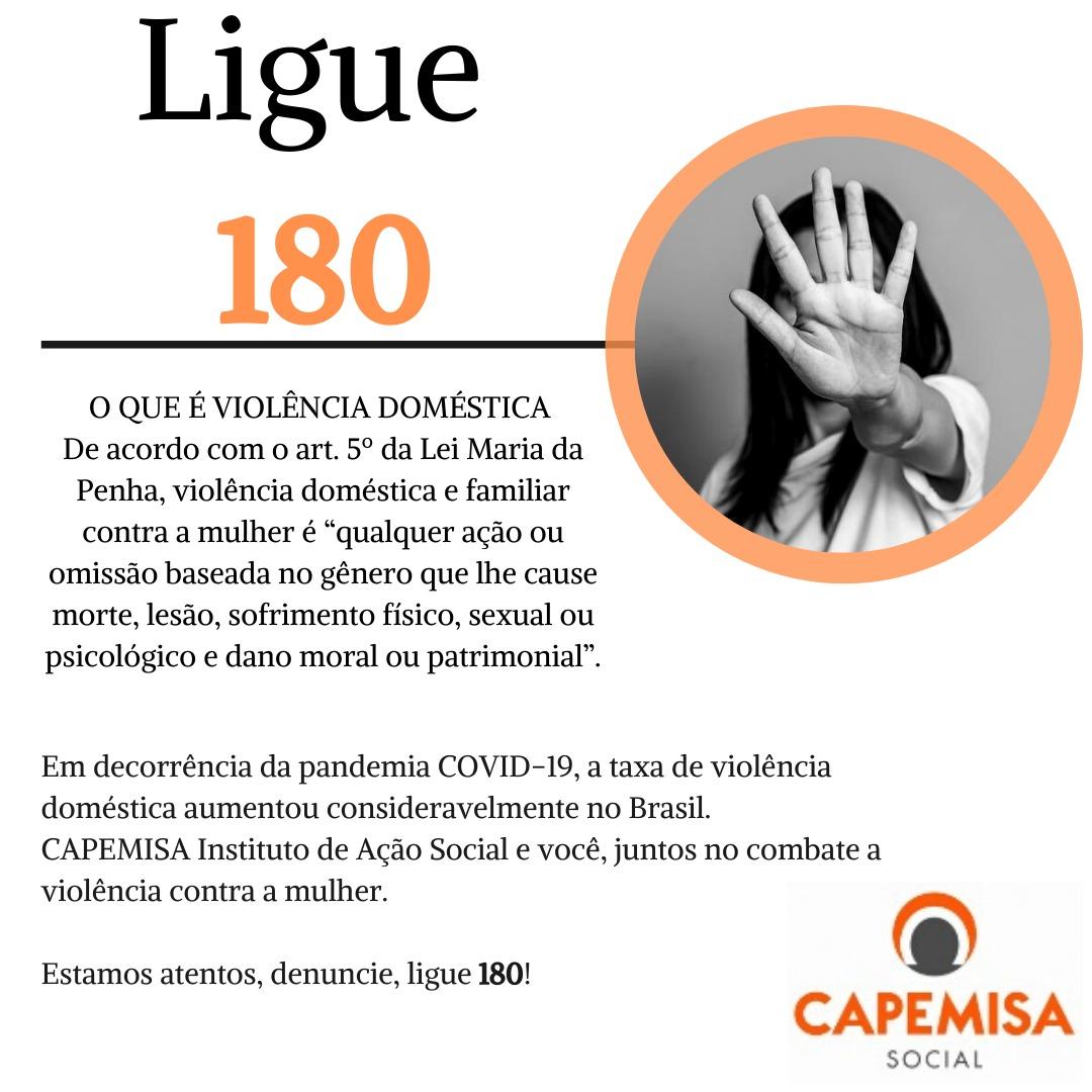 A CAPEMISA Instituto de Ação Social e você, juntos no combate a violência contra mulher.